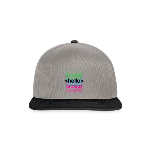 Ferry Corsten 'Hello World' Snapback - Snapback Cap