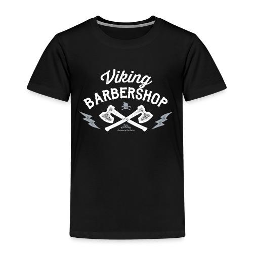 Viking Barbershop - Børne premium T-shirt