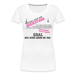 Rock Mama - Frauen Premium T-Shirt