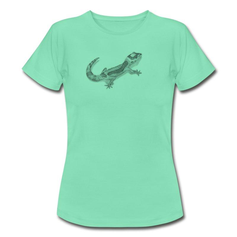 Maglietta con disegno geco spreadshirt for Disegno geco