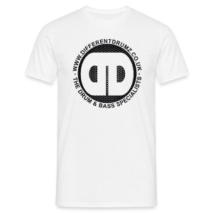 DDz Logo Honeycomb - Men's T-Shirt