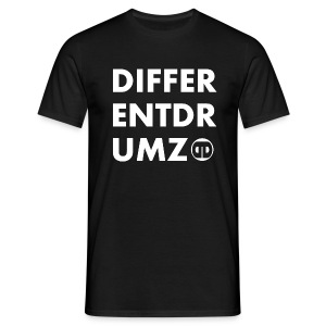DIFFERENT DRUMZ - White - Men's T-Shirt