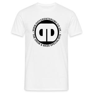 DDz Logo Black - Men's T-Shirt