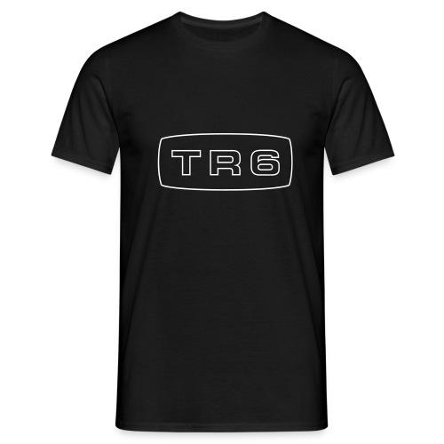 Triumph TR6 emblem script - Men's T-Shirt