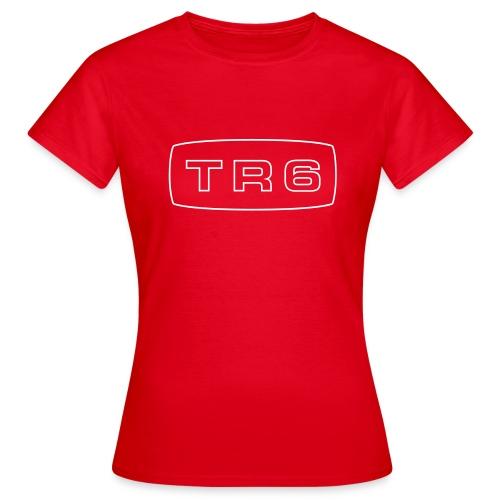 Triumph TR6 emblem script - Women's T-Shirt