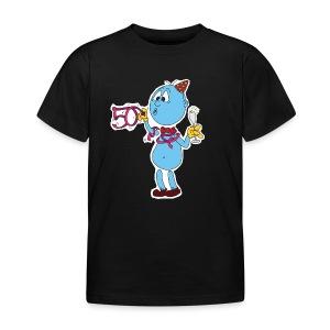 Kinder Männchen vorne - Kinder T-Shirt