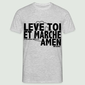 Amen grey - T-shirt Homme