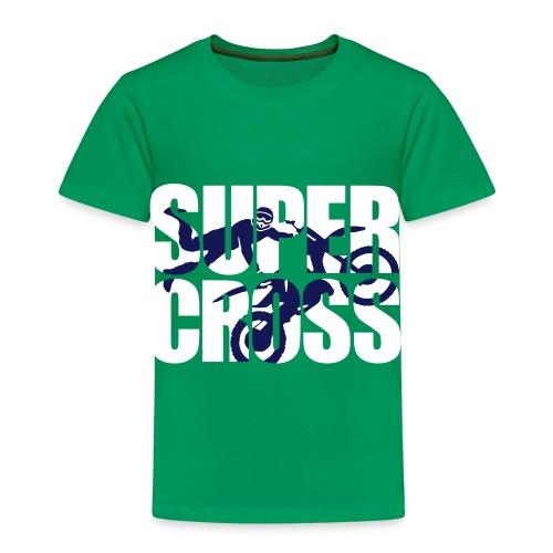 Kid's Shirt Super Cross - Kids' Premium T-Shirt