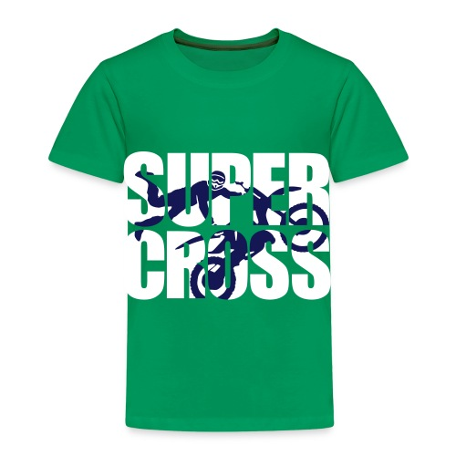 Kid's Shirt Super Cross - Kids' Premium T-Shirt