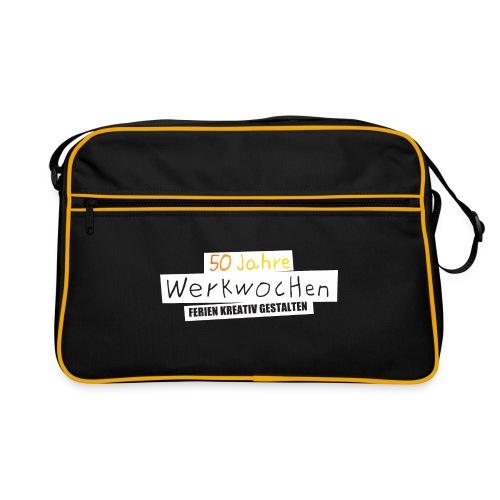 Retrotasche Logo vorne - Retro Tasche