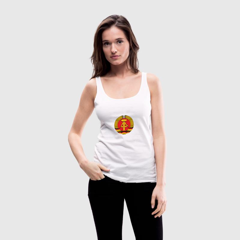 Nationalwappen von der DDR Tops - Frauen Premium Tank Top