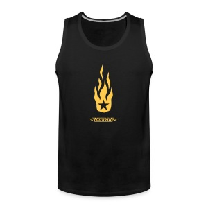 NITROVILLE official tank top firebrand version - Men's Premium Tank Top