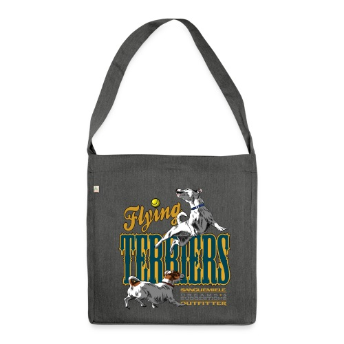 Flying Terriers - Borsa in materiale riciclato