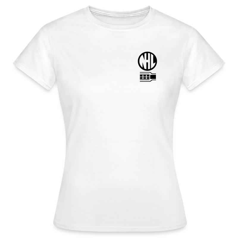 NHL Womens Fitted White TShirt - Women's T-Shirt
