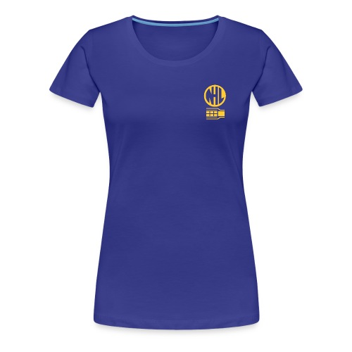 NHL Wonens Fitted T Shirt - Blue - Women's Premium T-Shirt