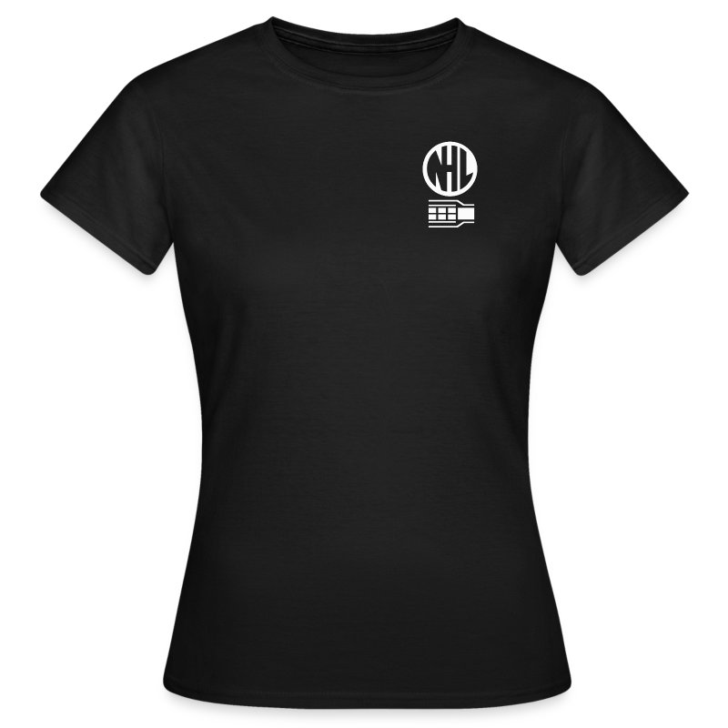 NHL Womens Fitted T Shirt - Black - Women's T-Shirt