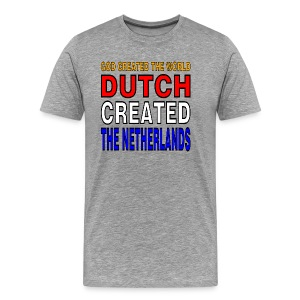 DUTCH PRIDE - create the netherlands - Mannen Premium T-shirt
