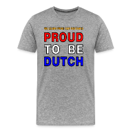 T-Shirts ~ Men's Premium T-Shirt ~ DUTCH PRIDE - learn from mistakes