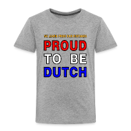 Shirts ~ Kids' Premium T-Shirt ~ DUTCH PRIDE - learn from mistakes