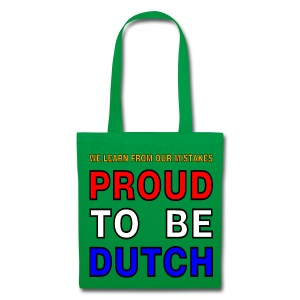 DUTCH PRIDE - learn from mistakes - Tas van stof