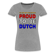 T-Shirts ~ Women's Premium T-Shirt ~ DUTCH PRIDE - learn from mistakes