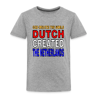 Shirts ~ Kids' Premium T-Shirt ~ DUTCH PRIDE - create the netherlands