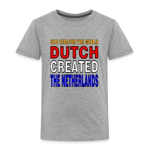 DUTCH PRIDE - create the netherlands - Kinderen Premium T-shirt