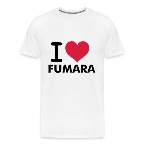 I love FUMARA - Men's Premium T-Shirt