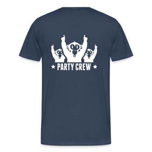 Party Crew! - Miesten premium t-paita