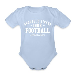 Tigers Athletic Baby - Organic Short-sleeved Baby Bodysuit