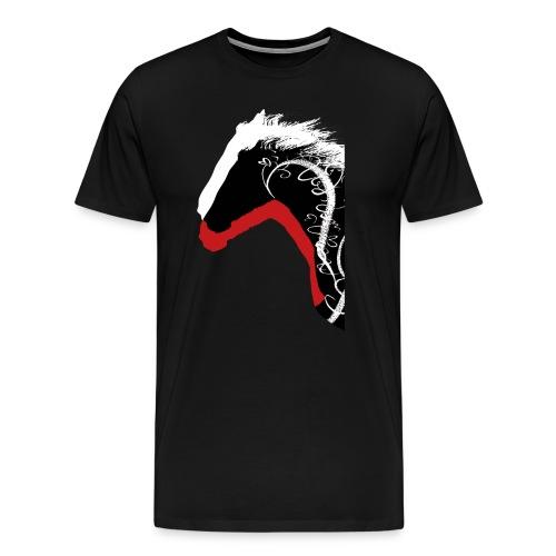Drei Pferde - Männer Premium T-Shirt
