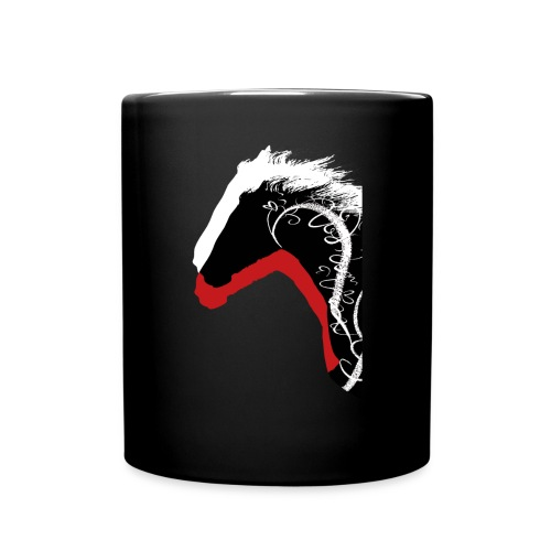 Drei Pferde - Tasse einfarbig