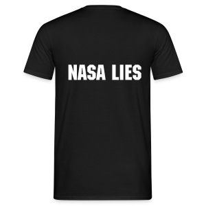 Nasa Lies - Men's T-Shirt