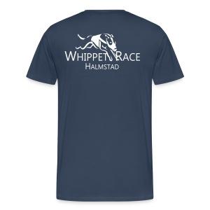 T-shirt Herr Logo Bak - Premium-T-shirt herr