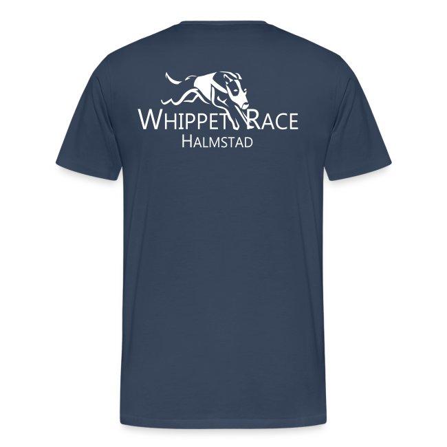 T-shirt Herr Logo Bak