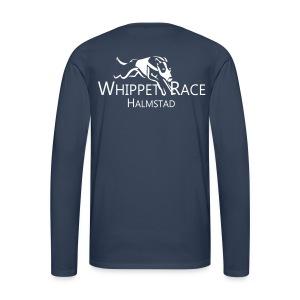 Långärmad T-shirt Herr Logo Bak - Långärmad premium-T-shirt herr