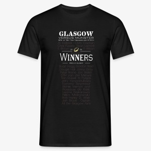 Glasgow PRO12 Winners Glass - Men's T-Shirt