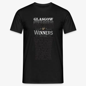 Glasgow PRO12 Winners Glass - Men's T-Shirt