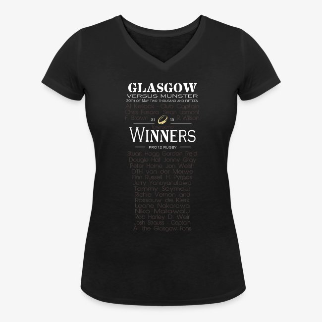 Glasgow PRO12 Winners Glass