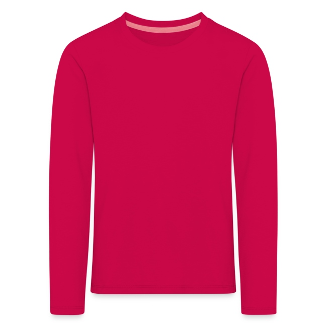 Långärmad T-shirt Barn Logo Bak