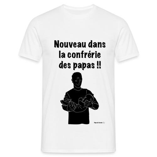 T-shirt nouveau papa - T-shirt Homme