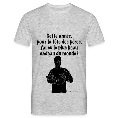 T-shirt cadeau Fête des Pères - T-shirt Homme