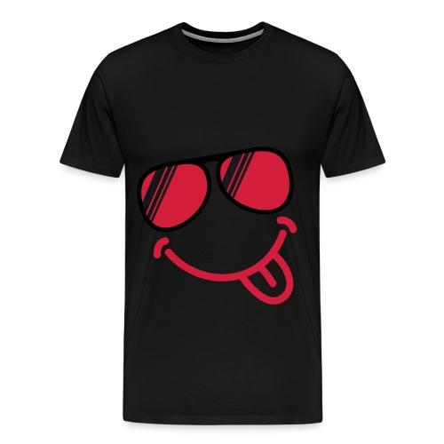Tongue out - Men's Premium T-Shirt