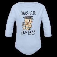 Baby Bodys ~ Baby Langarm-Body ~ Master Baby