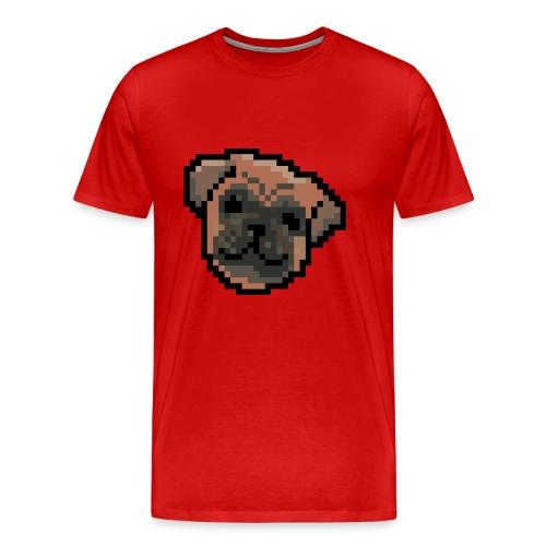 8-bits Dog - Camiseta premium hombre