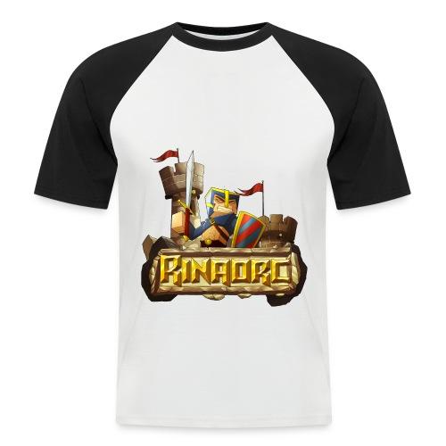 Tee shirt baseball manches courtes Homme - Rinaorc - T-shirt baseball manches courtes Homme