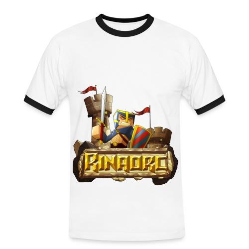 Tee shirt contraste Homme - Rinaorc - T-shirt contrasté Homme