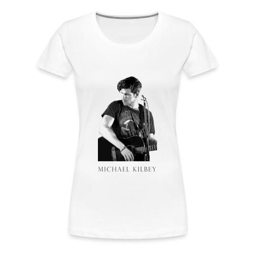 MK Live Premium T-shirt (White) - Women's Premium T-Shirt