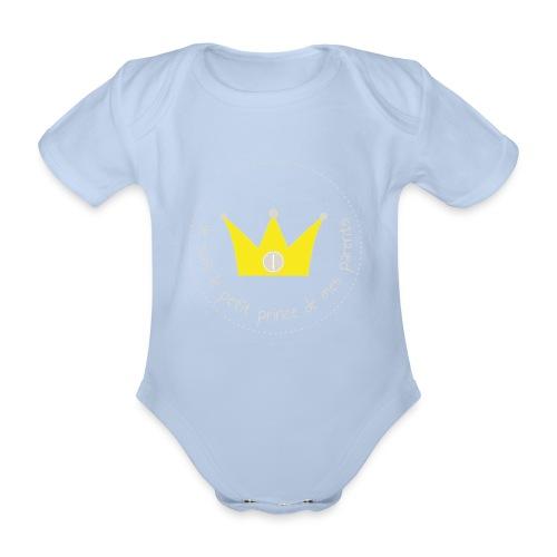 Body Petit prince de mes parents - Body bébé bio manches courtes