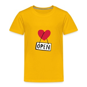 LOVEshirt Open heart - Kinder Premium T-Shirt
